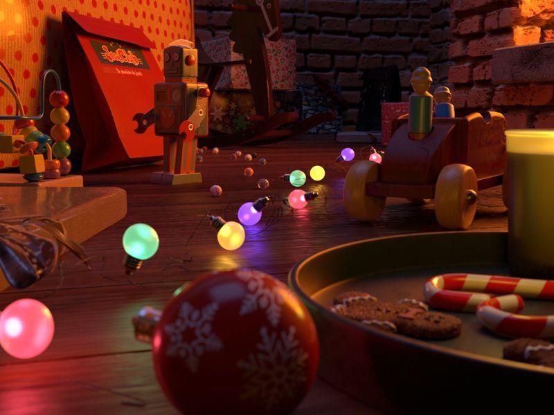 Christmas Scene