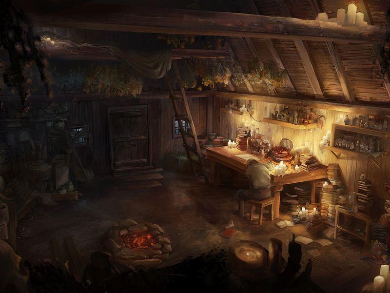 Vicar's hut