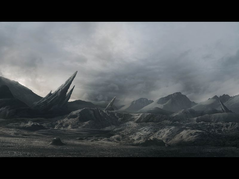 Digital Matte Painting-Showreel