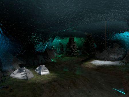 Fantastic Ice Cavern