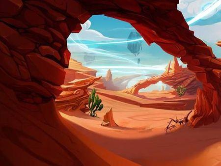 Dragonfall Desert