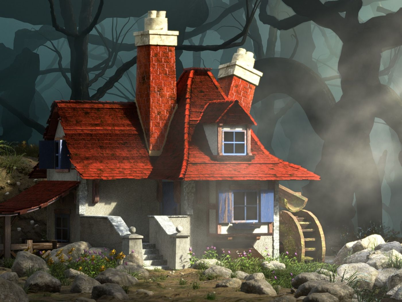 The Little House in the Dark Forest