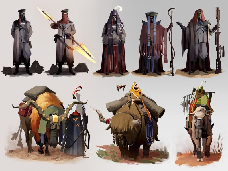 Sci-Fi Characters