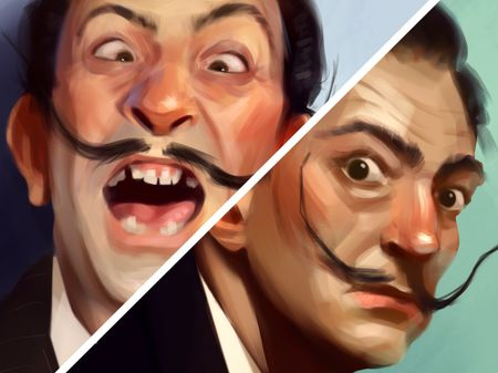 Salvador Dalí Portraits