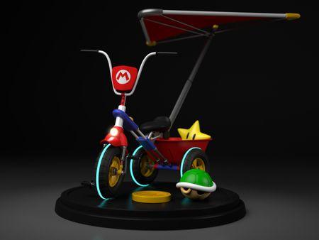 Tricycle Mario Kart 8