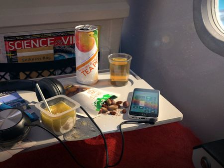 Chillin' on the Plane
