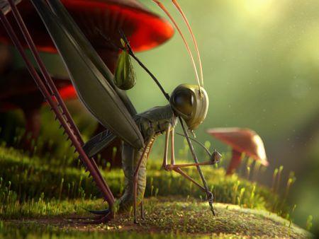 Travelling Locust