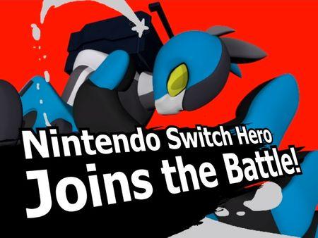 Nintendo Switch Hero - 3D Fan Animation