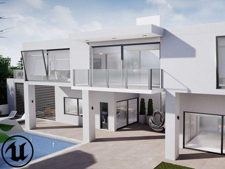 Modern Summer Villa Unreal Engine