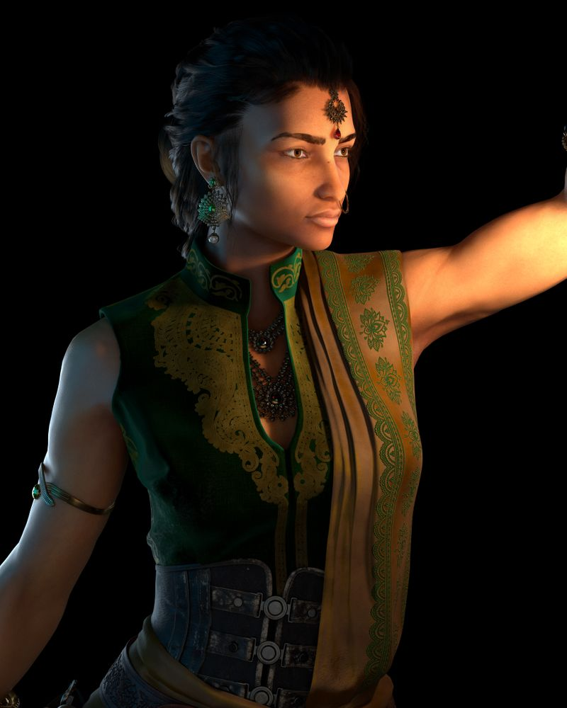 Aadra, Indian Pirate