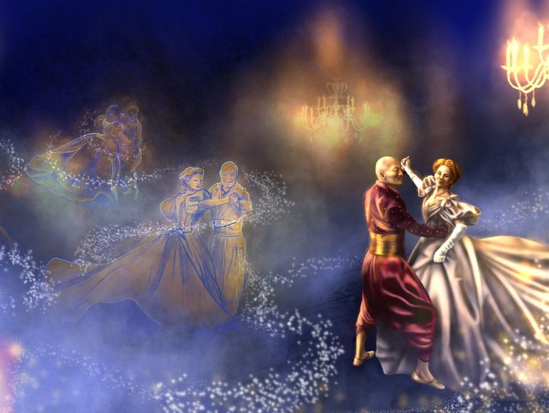 King and I Concept art