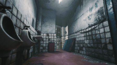 Silent Hill Bathroom