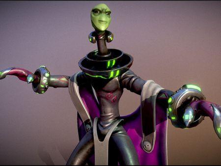 Blypyp, Martian Scientist