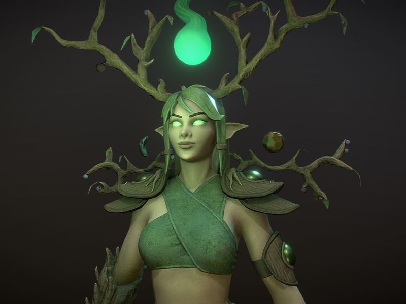 Willow the Elven Spirit Keeper