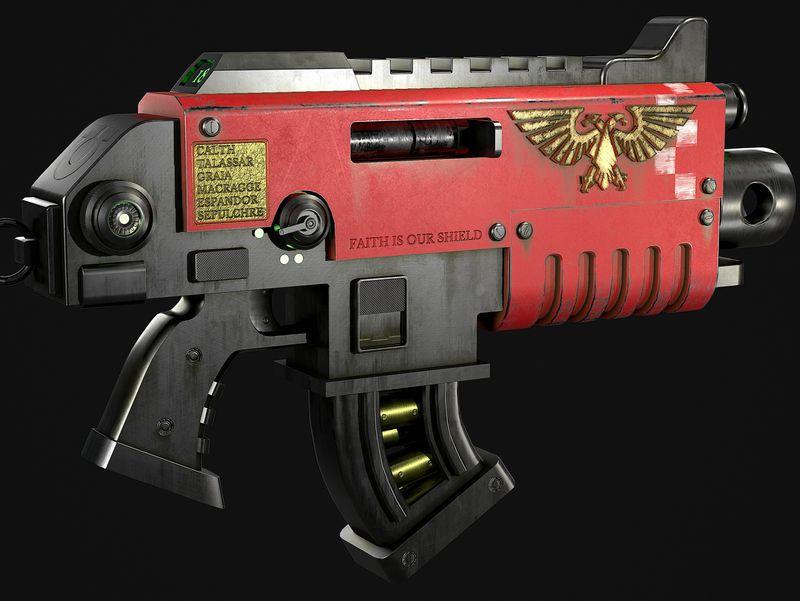 Warhammer 40,000 Bolter