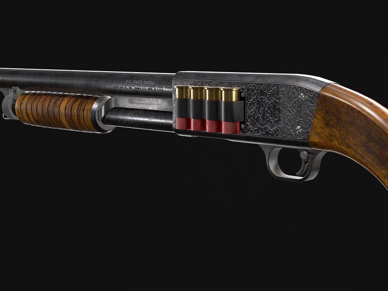 Ithaca M37 Sawed Off Shotgun