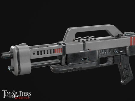 Timesplitters: Rewind - Sci-Fi Assault Rifle