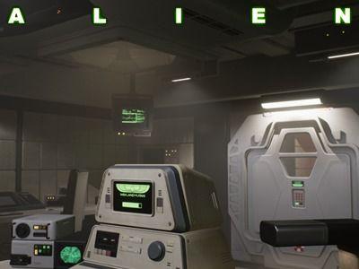 Weyland Yutani Office - Alien Universe