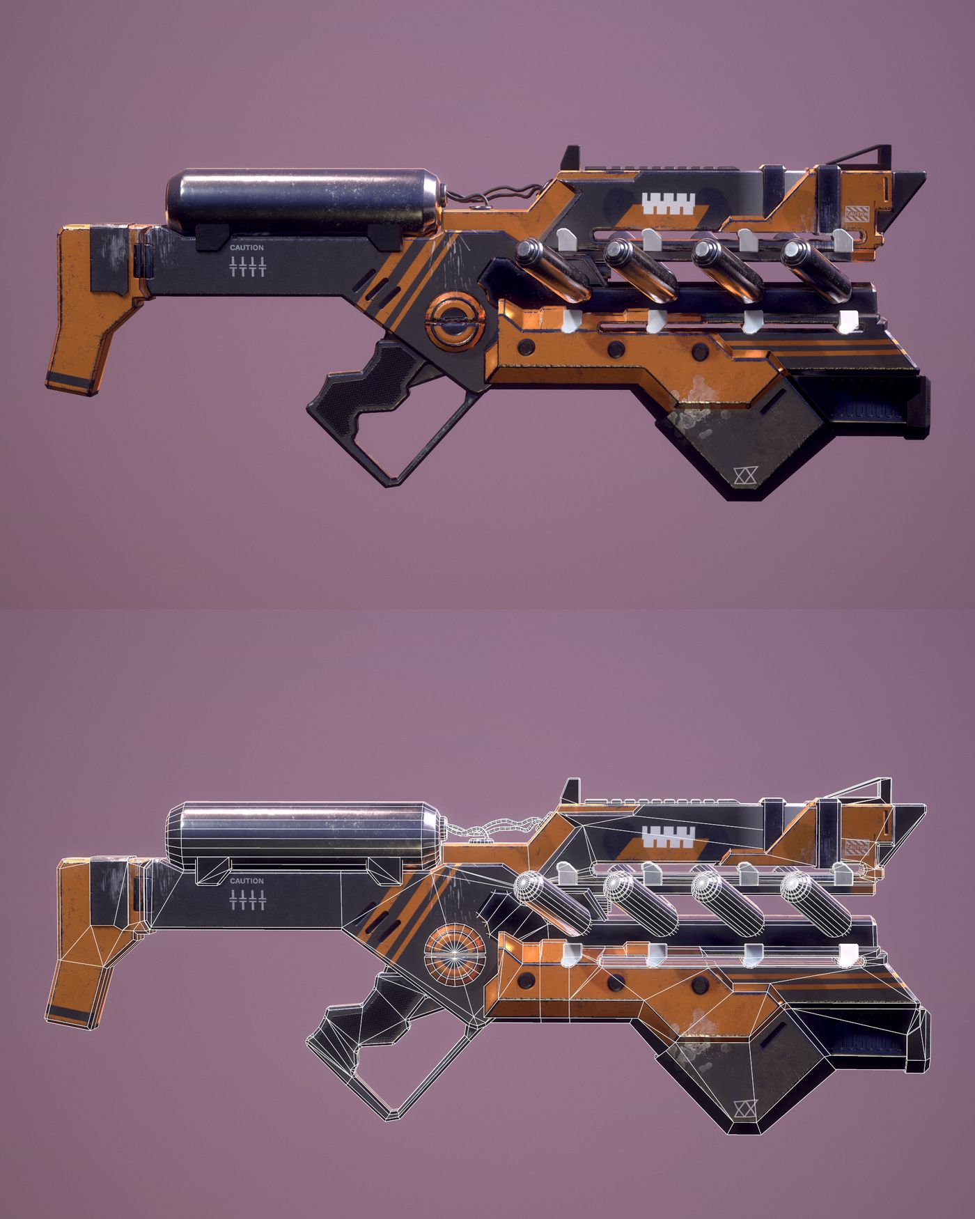 Cyborg Weapon Marleenvijgen