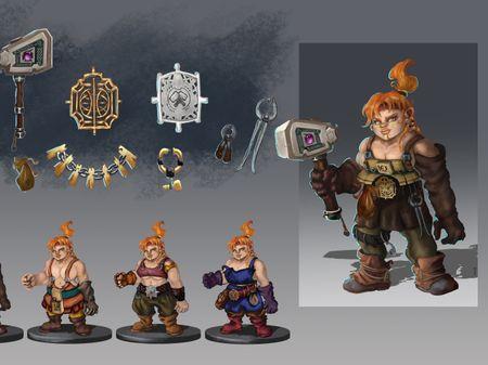 Wylendorth, the blacksmith dwarf
