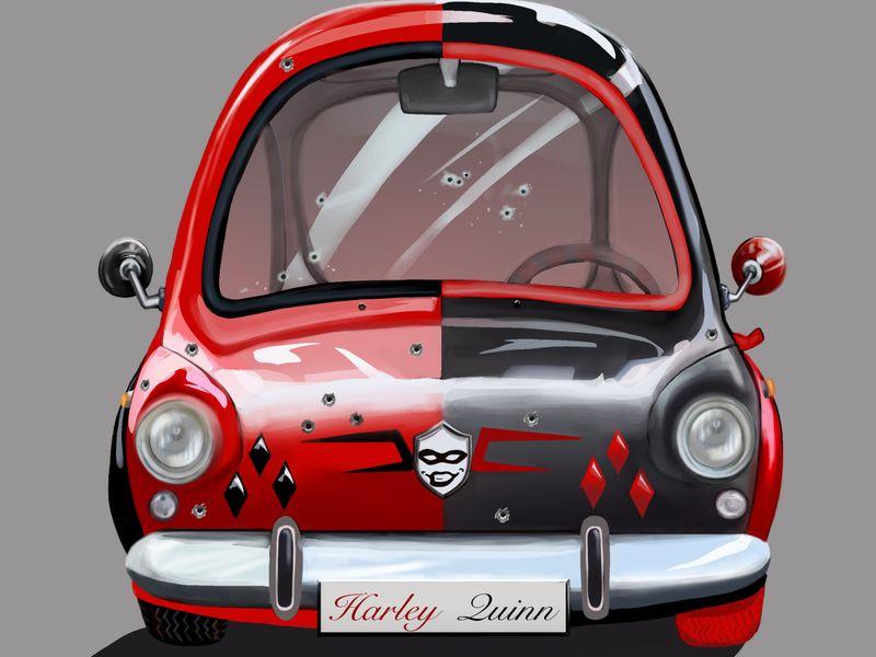 Harley car