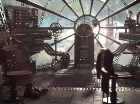 Steampunk Airship Interior
