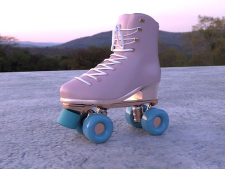 Roller Skate- Mary Blume Summer 2020