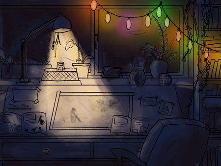 A cozy place