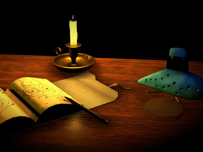 In The Study: A Legend of Zelda inspired still-life