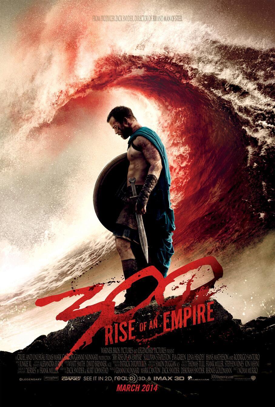 300 Naissance Dun Empire Poster Maskio