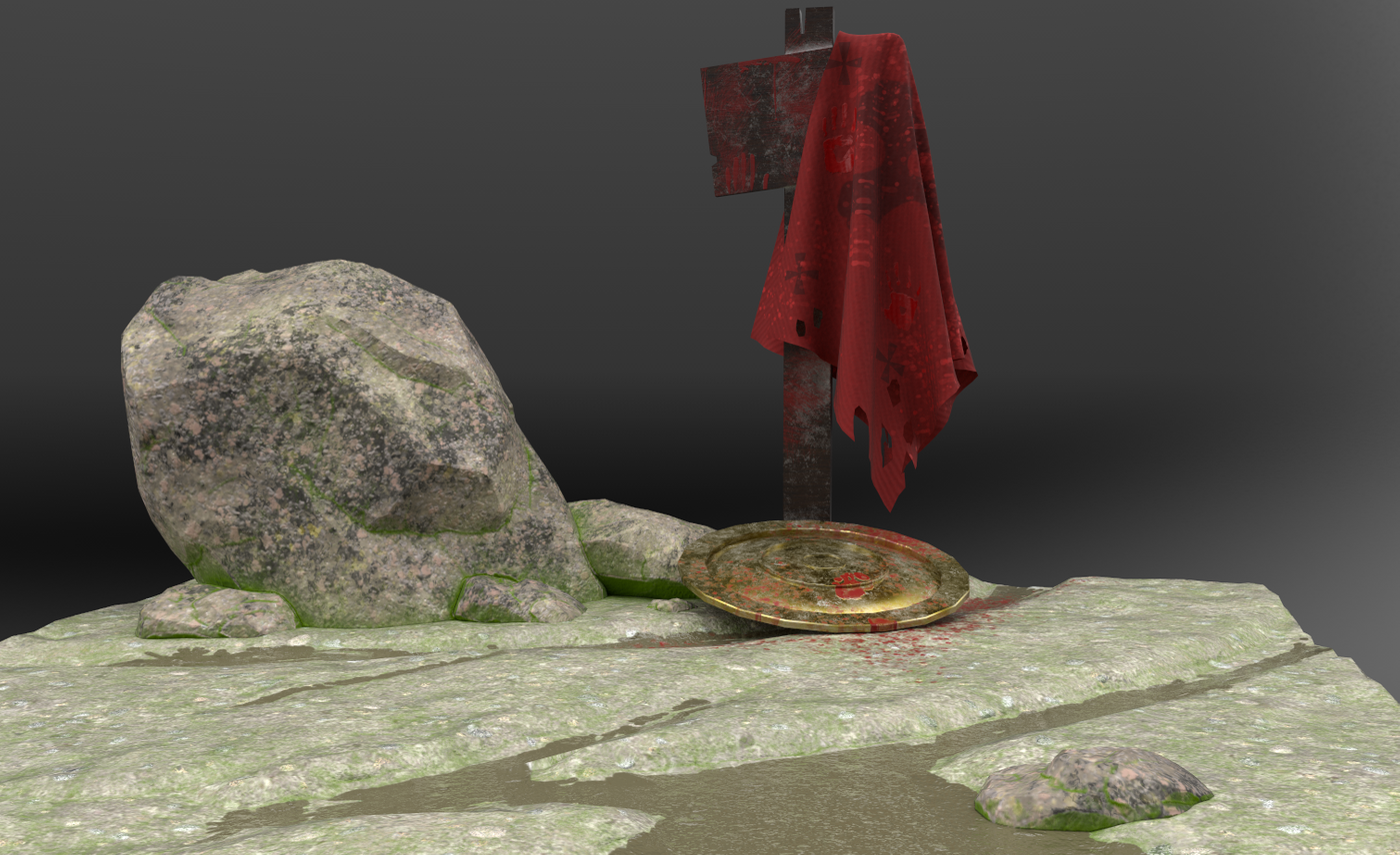 300: second work with substance painter
