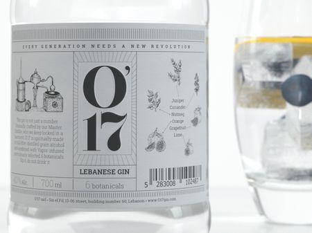 O'17 Lebanese Gin