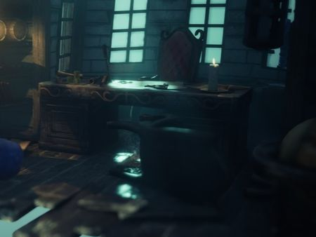Pirate Captain's Room