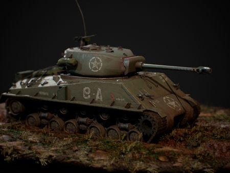 """M4A3 '""""Easy Eight"""" tank"""