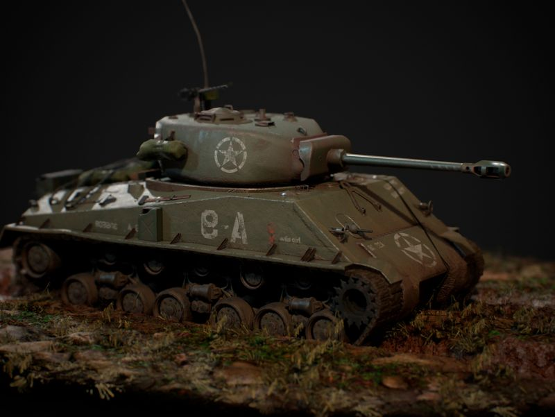 "M4A3 '""Easy Eight"" tank"
