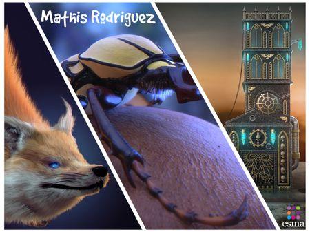 Mathis Rodriguez - 2nd Year ESMA Lyon Portfolio