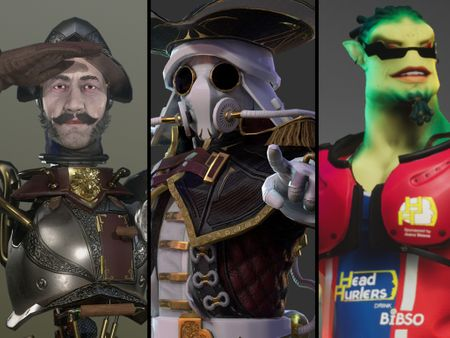 Matt Brett - 3D Characters