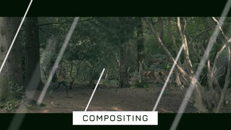 Compositing - Horizon Zero Dawn scene