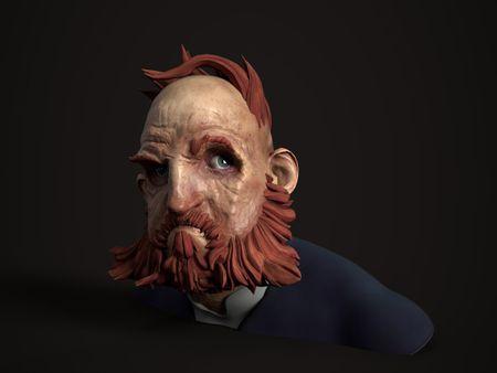Dishonored Head Sculpt