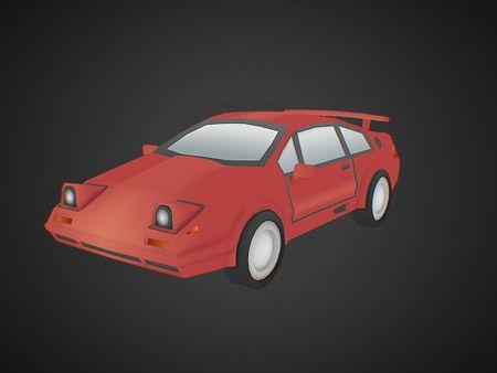Summer - Retro Car