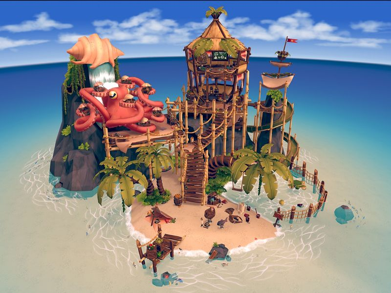 Little Pirate's Island