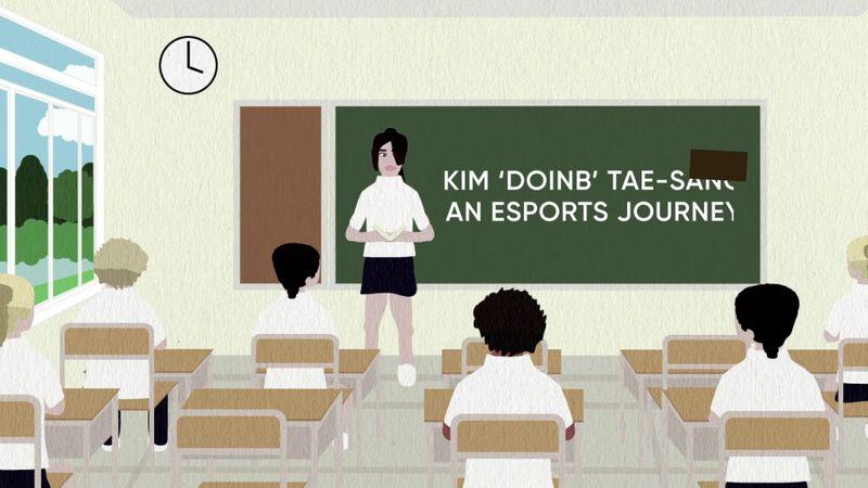 Max Callard - 2D Animation - An Esports Journey