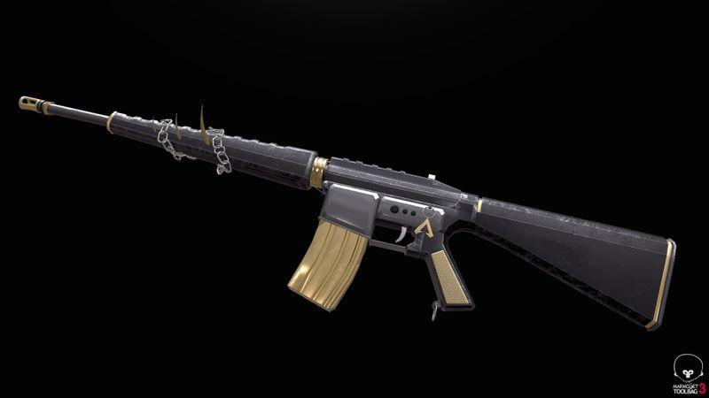 Assault Rifle - Max Gibson