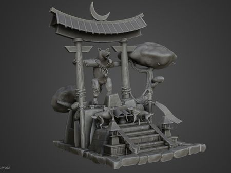 Temple of the Howling Wolf