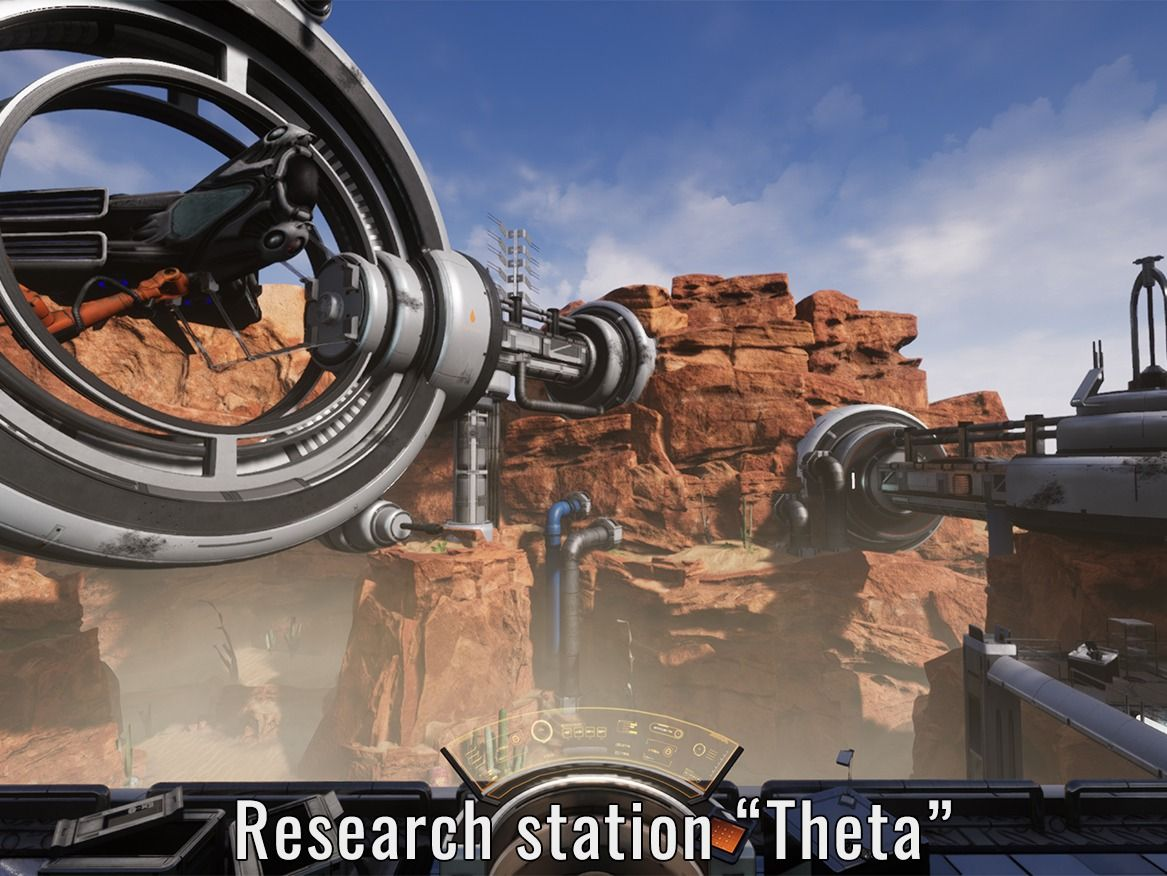 Research Station Theta
