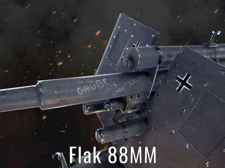 Flak 88mm 36