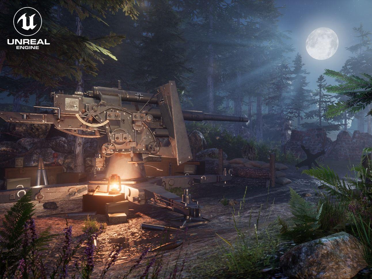 Ambushed - WW2 environment