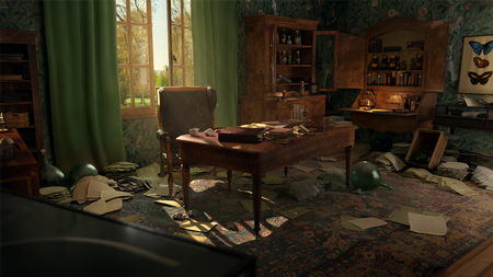Darwin's Desk