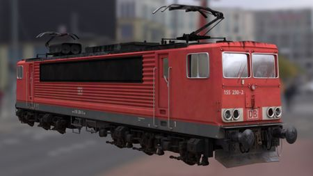 Train BR 155 DB (old project)