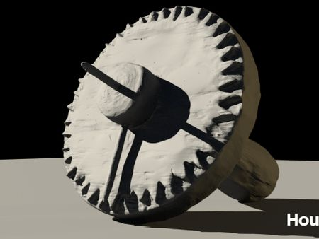 Solskuggefjol - viking sun compass (unfinished)